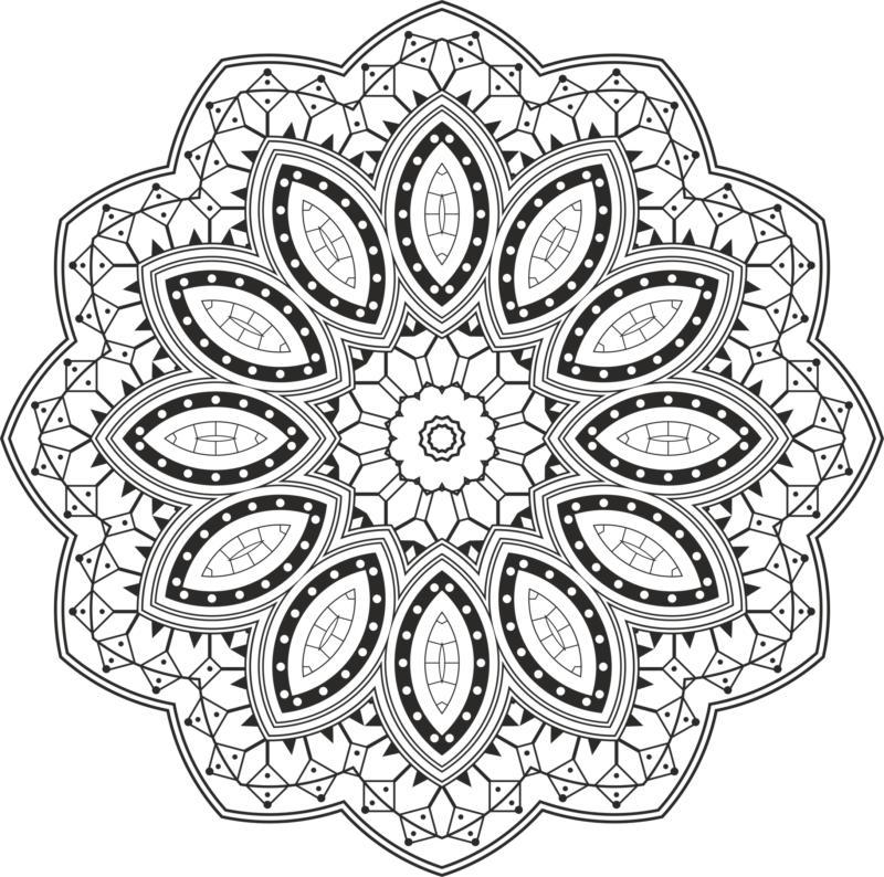 Mandala Design Free CDR Vectors Art