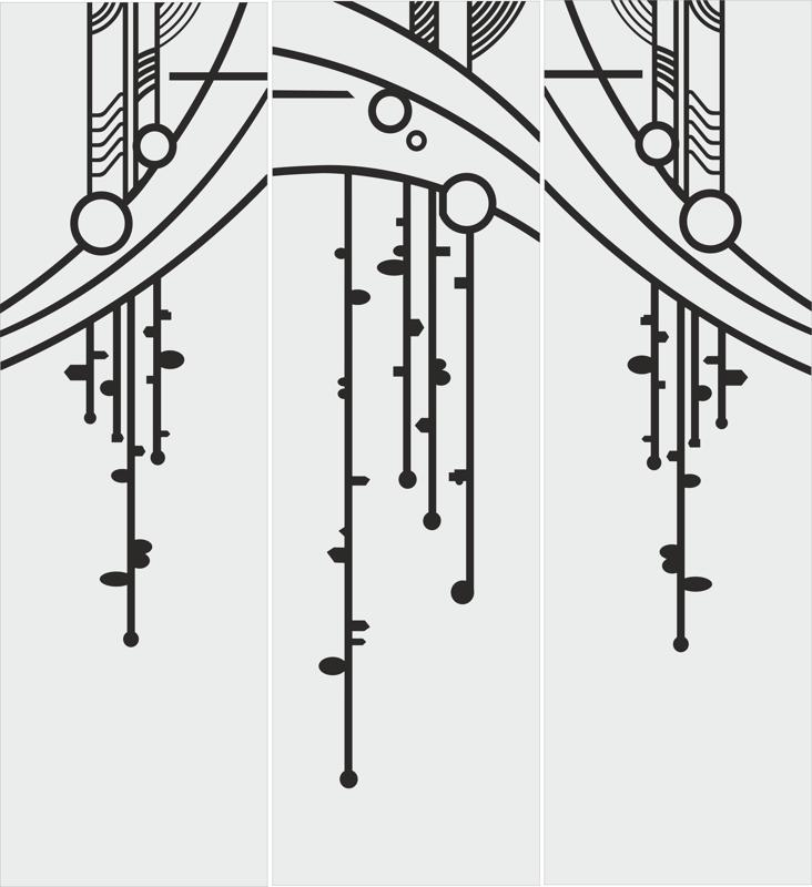 Abstract Art Sandblasting Pattern Free CDR Vectors Art