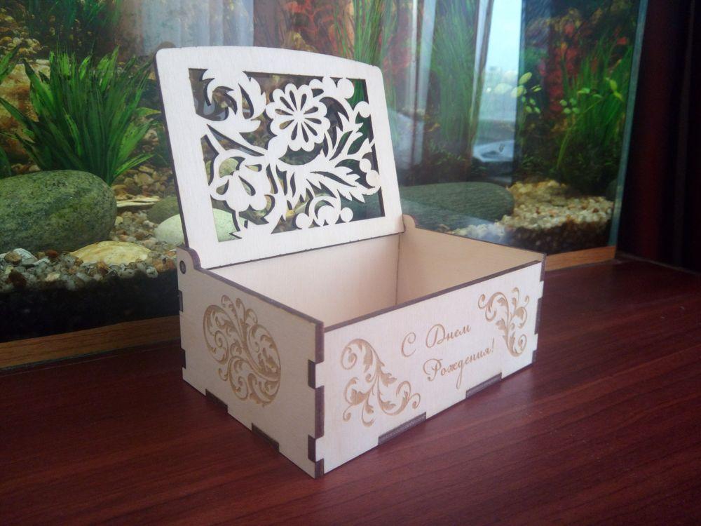 Wood Laser Cut Box Wood Puzzle Box 3mm Free CDR Vectors Art