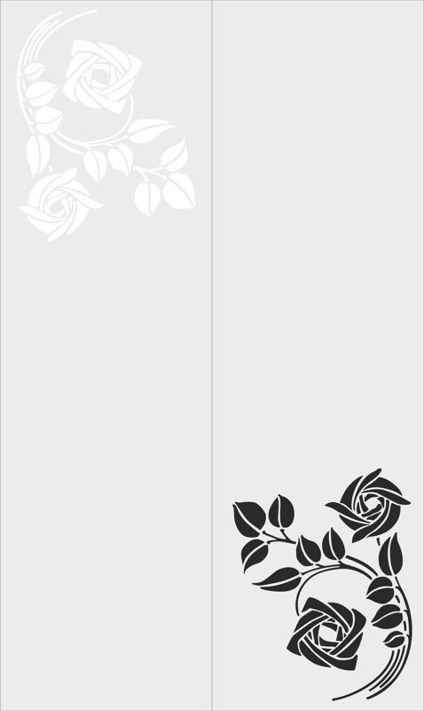 Sandblast Floral Design Free CDR Vectors Art