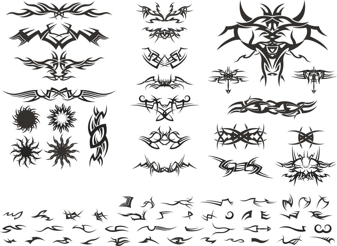 Tribal Free CDR Vectors Art