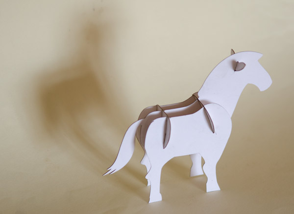 Конь Free CDR Vectors Art