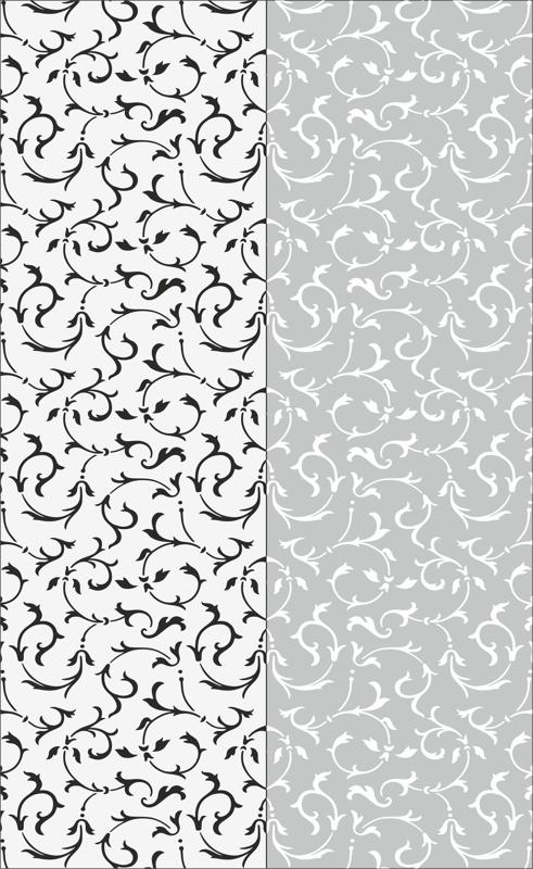 Floral Seamless Sandblast Pattern Free CDR Vectors Art