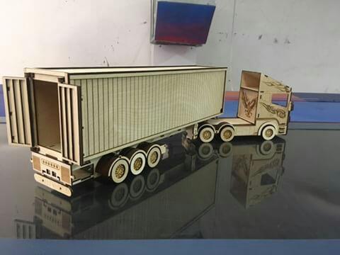 Scania R580 Laser Cut Free CDR Vectors Art