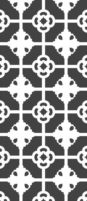 Wood Screen Room Divider Pattern Free CDR Vectors Art