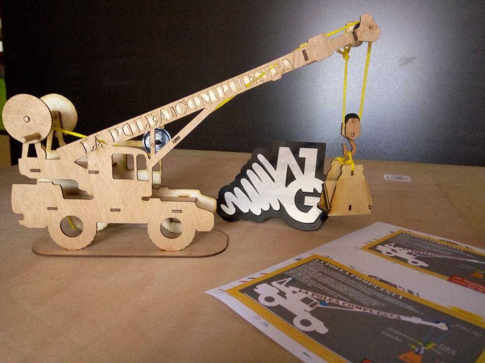 Crane 3D Puzzle Free CDR Vectors Art