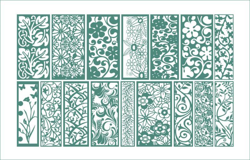 Floral Ornament Free CDR Vectors Art