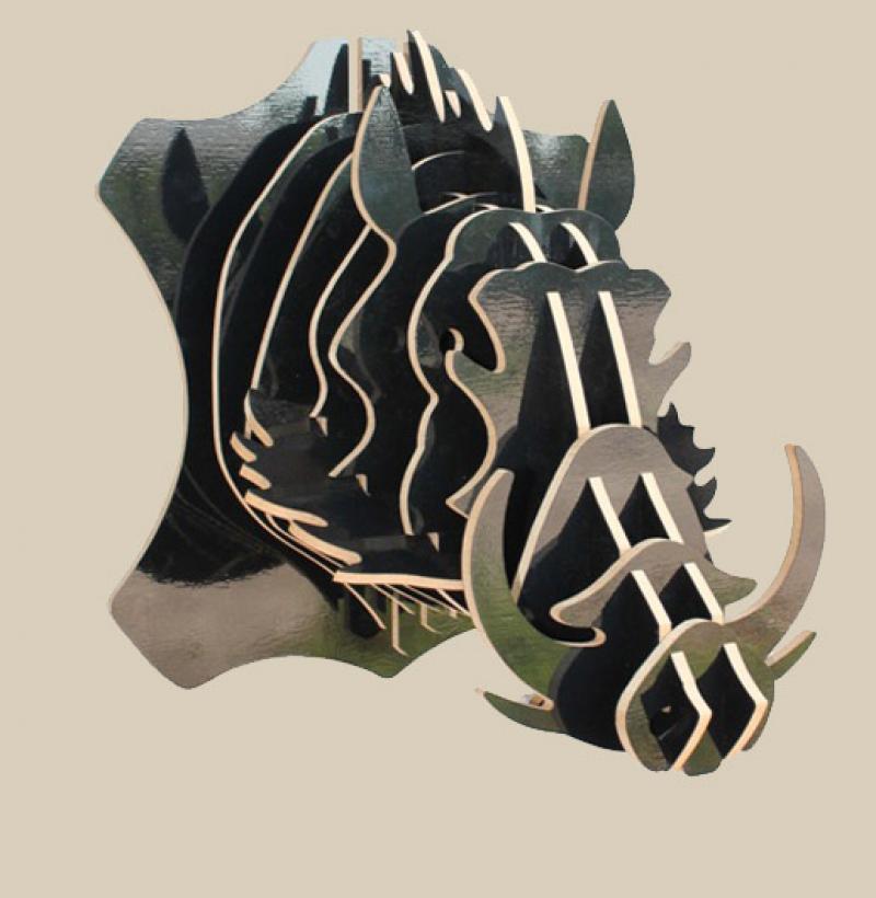 Warthog Pumbaa 3mm Free CDR Vectors Art