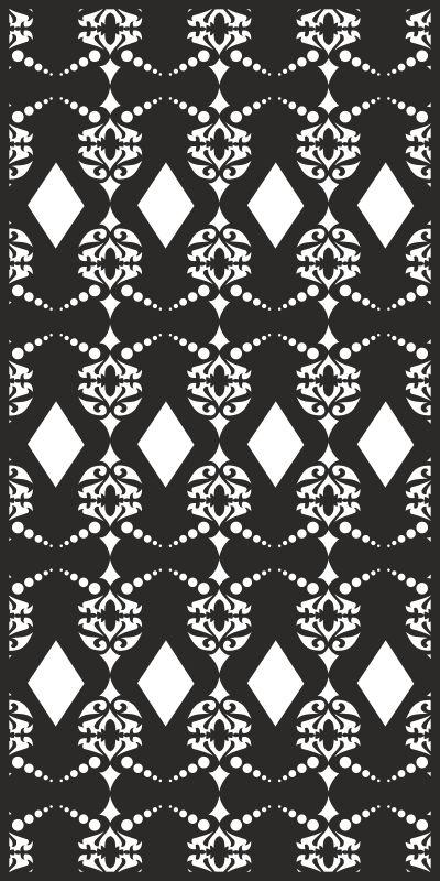 Vector Seamless damask pattern Free CDR Vectors Art