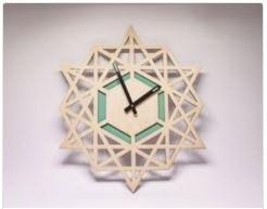 Clock Laser Cut Free CDR Vectors Art