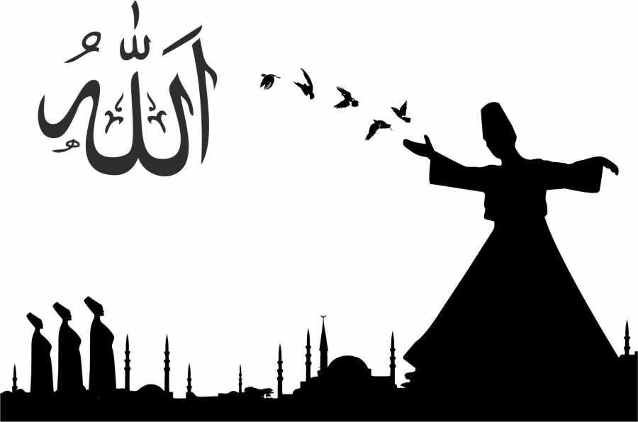 Islamic Wall Decal Sticker Free CDR Vectors Art