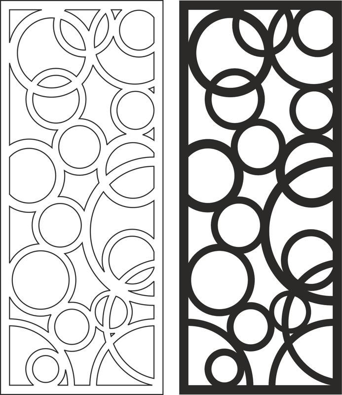 Wooden Separator pattern Free CDR Vectors Art