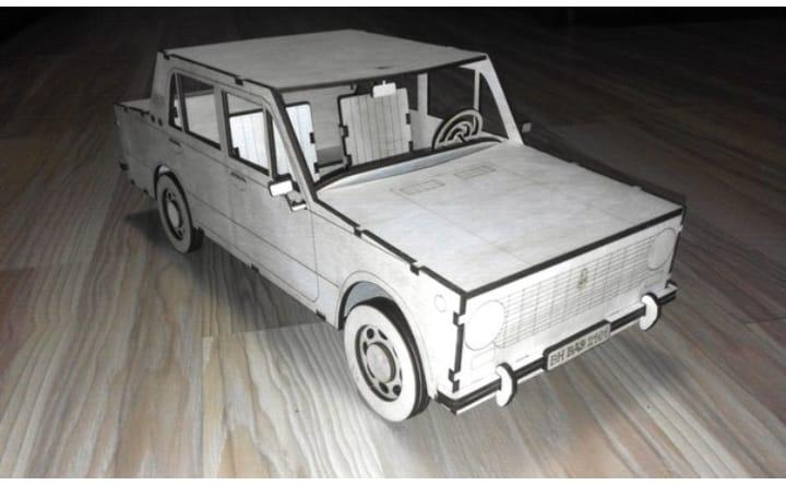 Car Vaz 2101 Free CDR Vectors Art