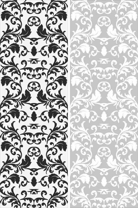 Seamless Victorian Pattern Free CDR Vectors Art