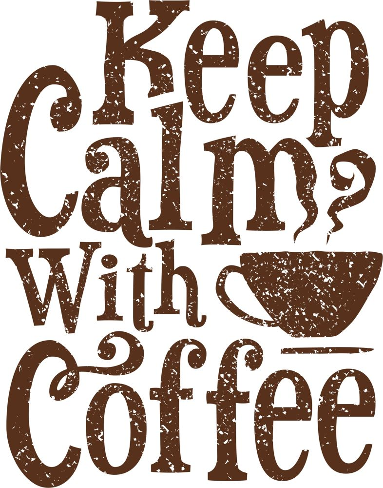Keep Calm Coffee Free CDR Vectors Art