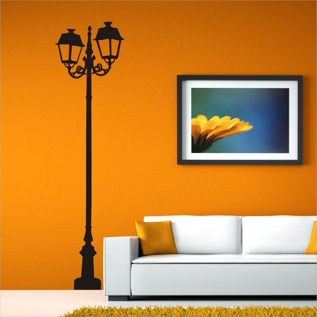 Ornate Lamp Post Free CDR Vectors Art
