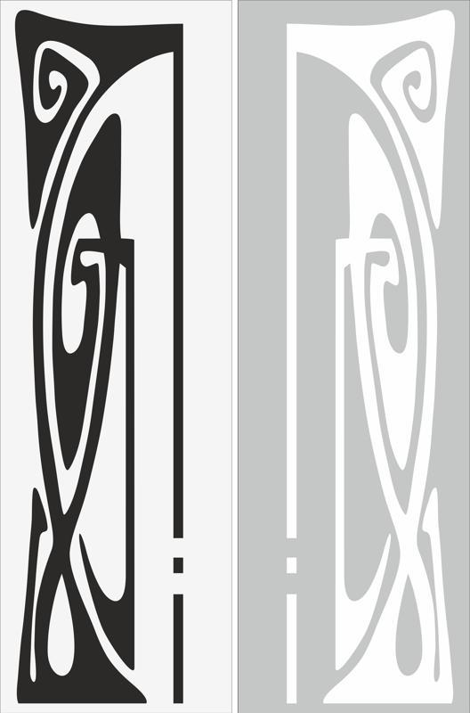 Abstract Decor Sandblast Pattern Free CDR Vectors Art