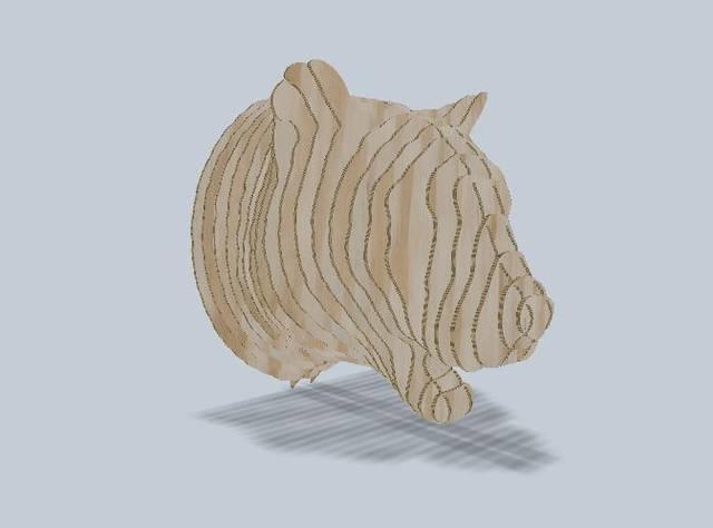Leopard 3D Puzzle Free CDR Vectors Art