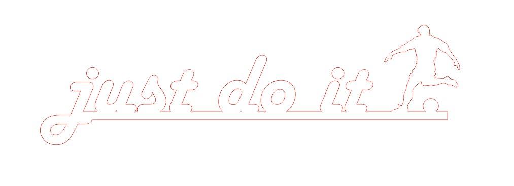 Just Do It Free CDR Vectors Art