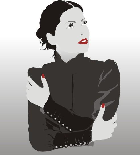 Beautiful Illustration Of Women Free CDR Vectors Art