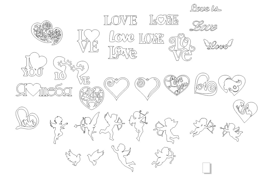 Valentine's Day February 14 Free CDR Vectors Art