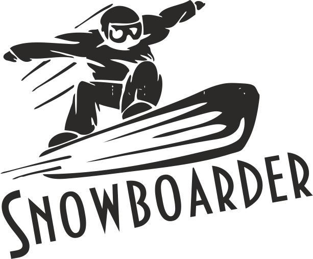 Sports Snowboarding Free CDR Vectors Art