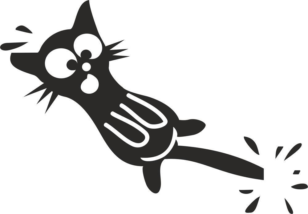Cat Stickers Free CDR Vectors Art