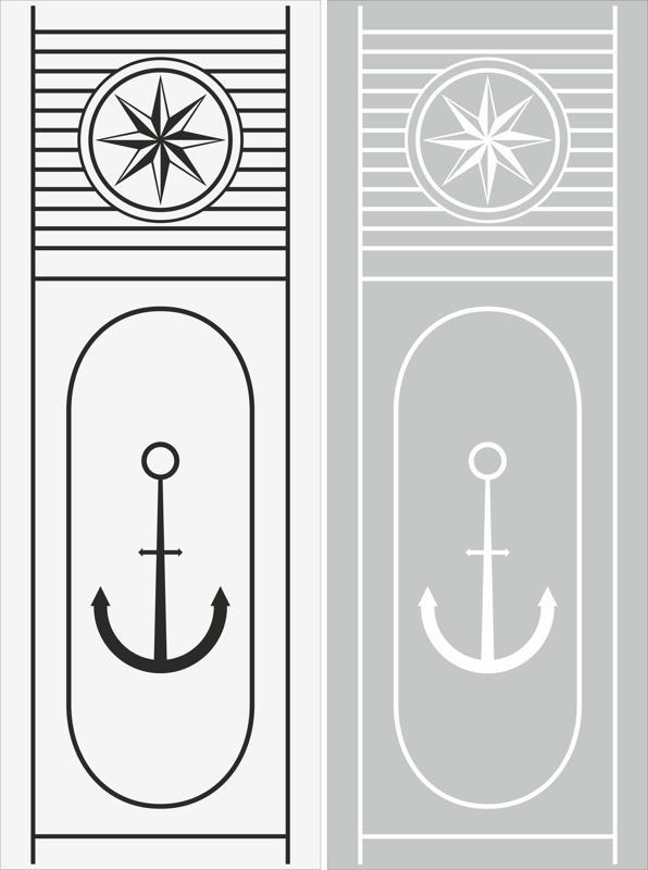 Anchor Sandblast Pattern Free CDR Vectors Art