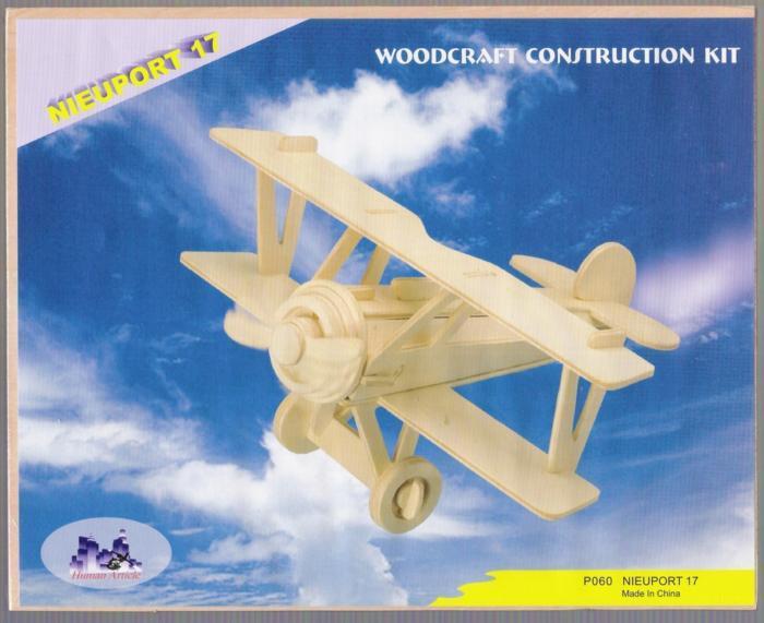 Nieuport 17 Aircraft Laser Cut Free CDR Vectors Art