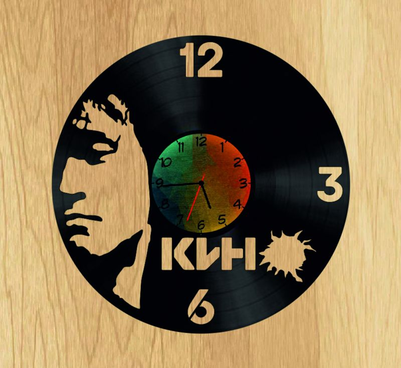Tsoy V Vinyl Record DIY Clock Free CDR Vectors Art