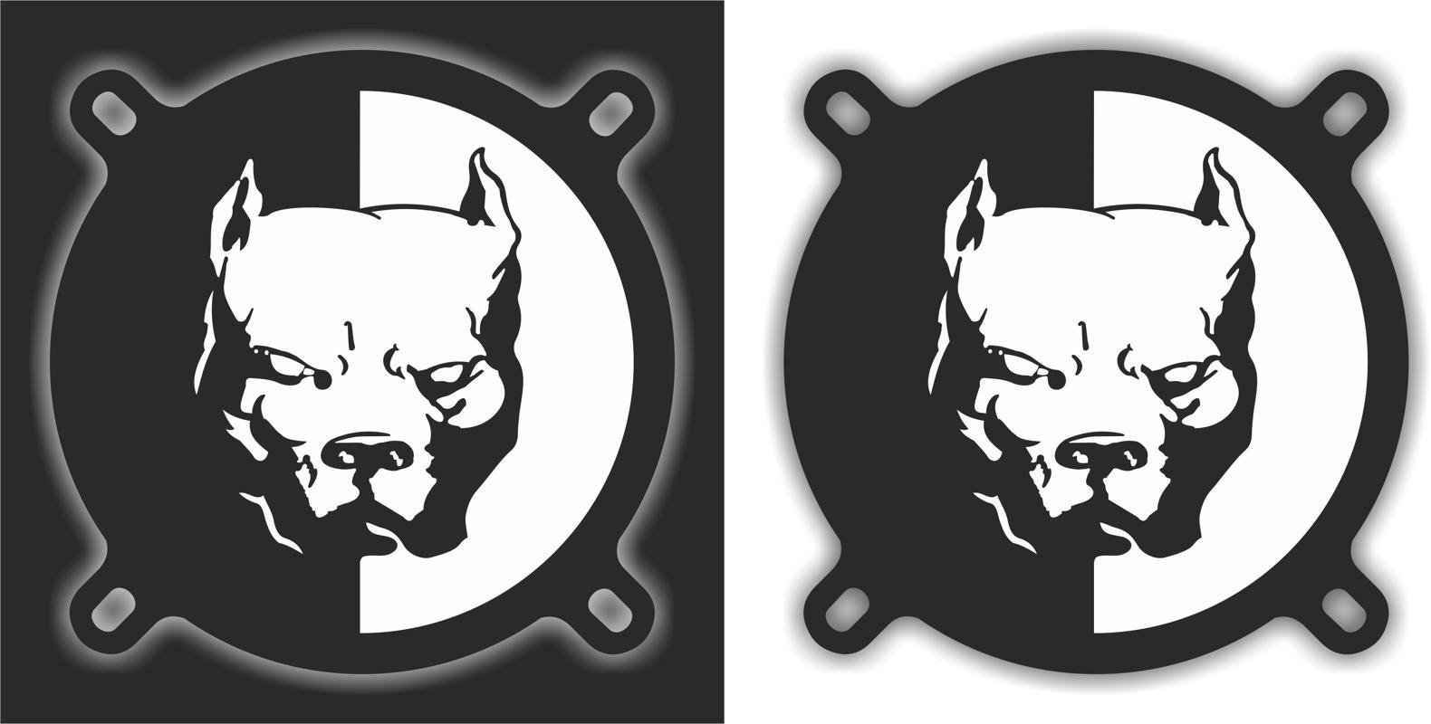 Pitbull Logo Free CDR Vectors Art