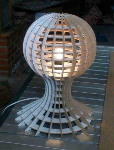 Lamp 3D Puzzle Free CDR Vectors Art