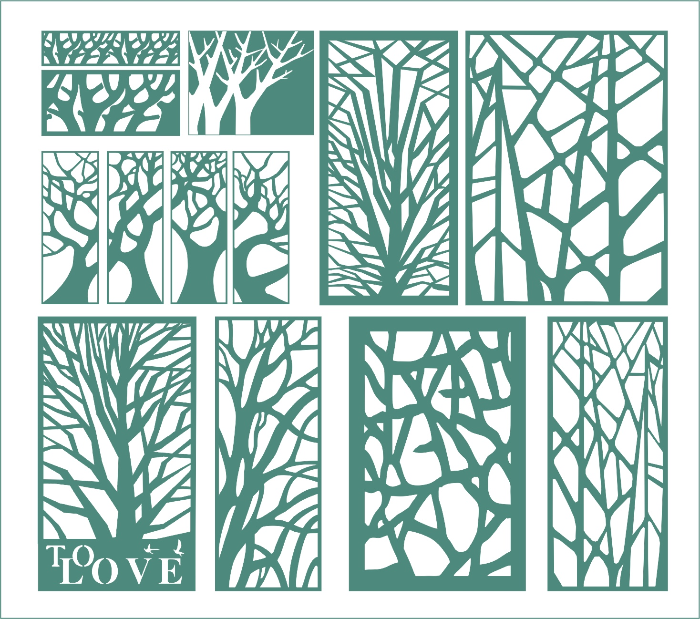 Tree Ornament Free CDR Vectors Art