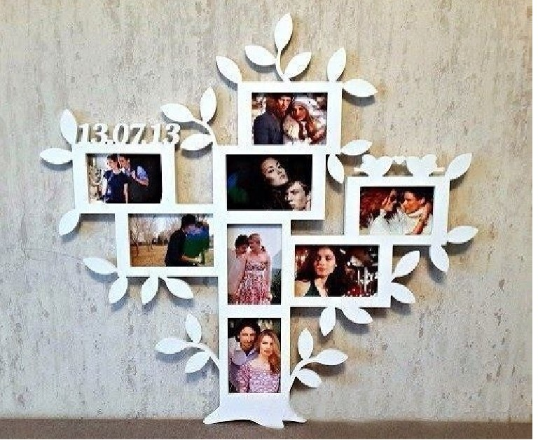 Family Tree Picture Frame Free CDR Vectors Art
