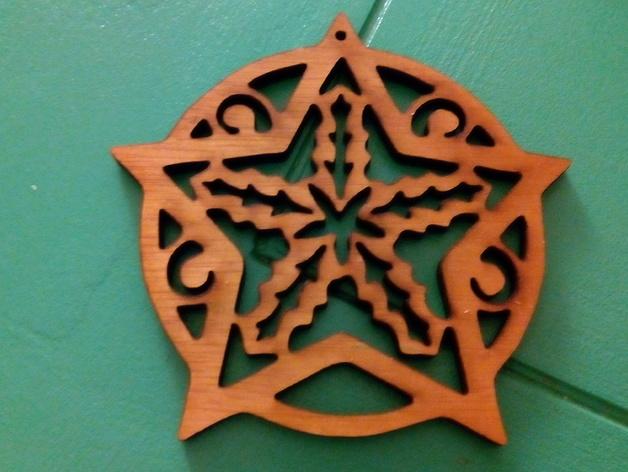 Tree Ornaments Free CDR Vectors Art