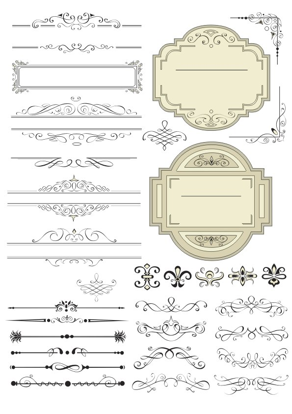 Decor Free CDR Vectors Art