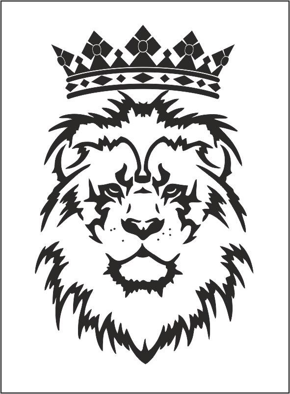 Lion Tattoo Free CDR Vectors Art