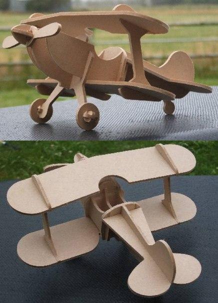 Kukuruznik biplane laser cut Free CDR Vectors Art