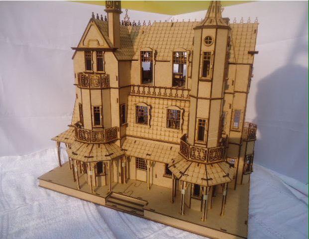 Castle Laser Cut Free CDR Vectors Art