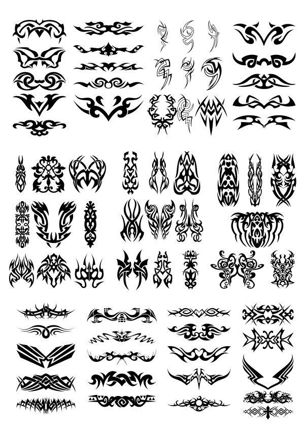 Tatoo Free CDR Vectors Art