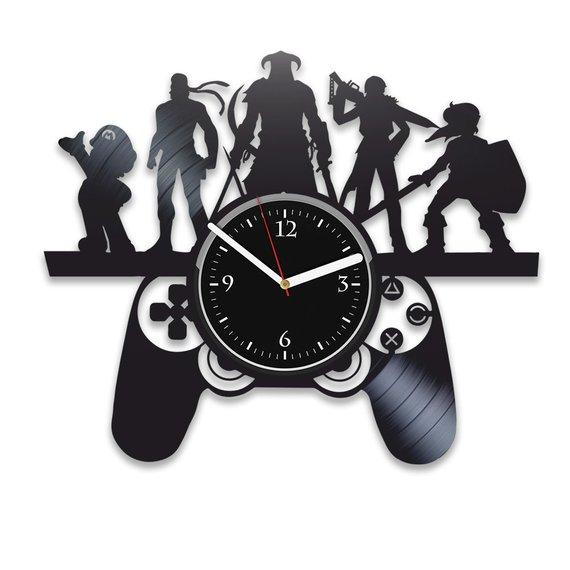 Gamer clock Free CDR Vectors Art