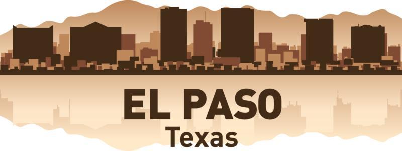El Paso Skyline Free CDR Vectors Art