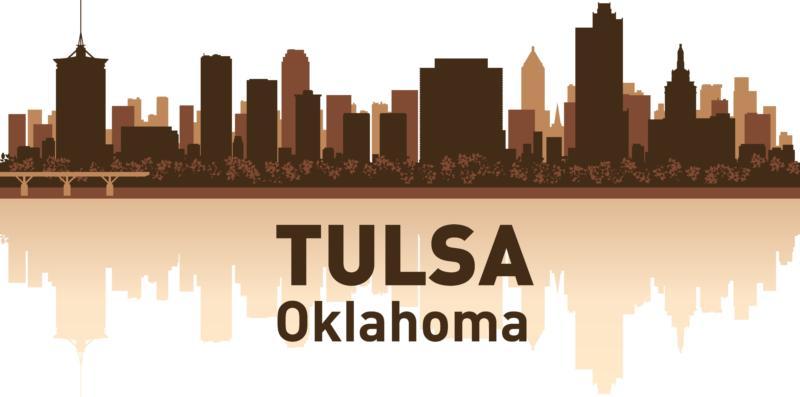 Tulsa Skyline Free CDR Vectors Art