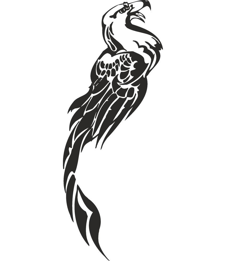 Fenix Tattoo Design Free CDR Vectors Art