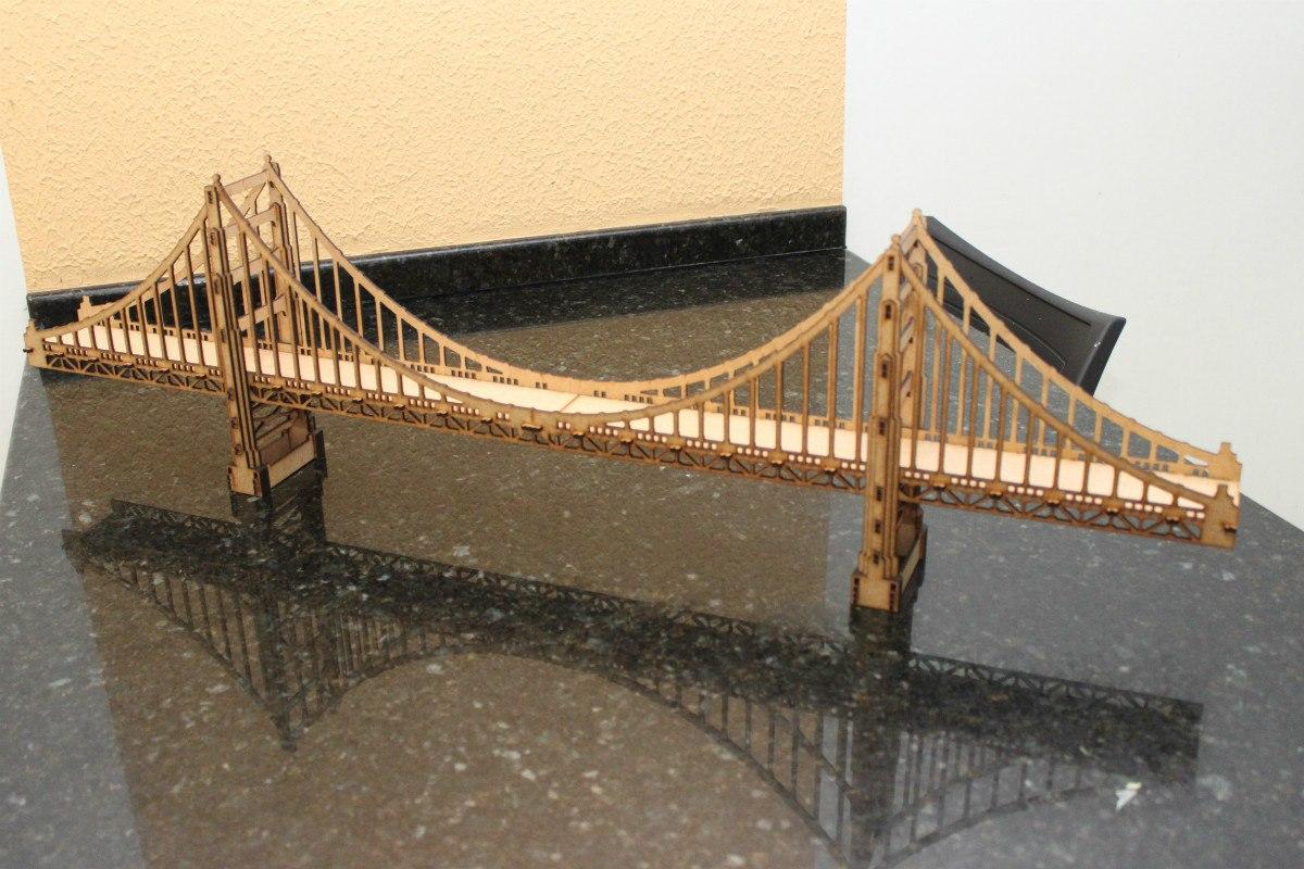 Olden Gate Bridge Laser Cut CNC Plans Free CDR Vectors Art