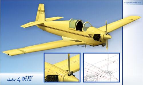 aircraft Free CDR Vectors Art