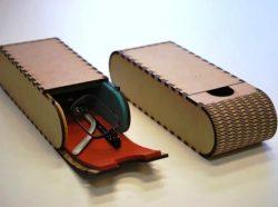 Eyeglasses Box File Download For Laser Cut Free CDR Vectors Art