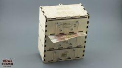 Money Box File Download Laser Cut Free CDR Vectors Art