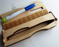 Pen Box File Download For Laser Cut Free CDR Vectors Art