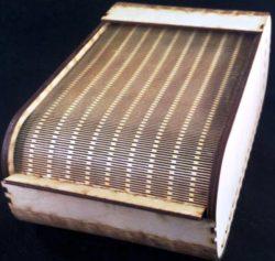 Rolltop Box File Download For Laser Cut Free CDR Vectors Art